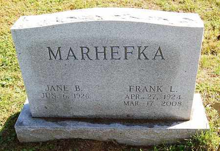 BASHORE MARHEFKA, JANE - Juniata County, Pennsylvania | JANE BASHORE MARHEFKA - Pennsylvania Gravestone Photos