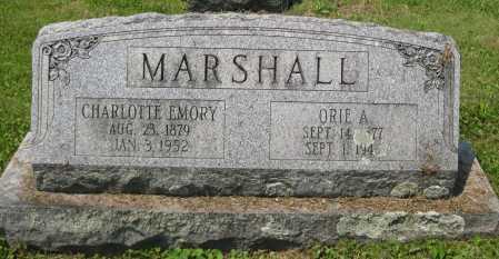 MARSHALL, ORIE A. - Juniata County, Pennsylvania | ORIE A. MARSHALL - Pennsylvania Gravestone Photos