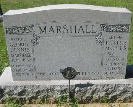 MARSHALL, PHYLLIS - Juniata County, Pennsylvania | PHYLLIS MARSHALL - Pennsylvania Gravestone Photos