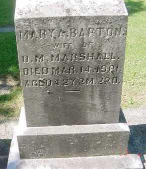 "MARSHALL, MARY ""ANNIE"" - Juniata County, Pennsylvania   MARY ""ANNIE"" MARSHALL - Pennsylvania Gravestone Photos"
