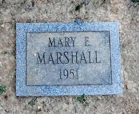 MARSHALL, MARY E. - Juniata County, Pennsylvania | MARY E. MARSHALL - Pennsylvania Gravestone Photos