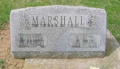 MARSHALL, KATHRYN RUTH - Juniata County, Pennsylvania | KATHRYN RUTH MARSHALL - Pennsylvania Gravestone Photos