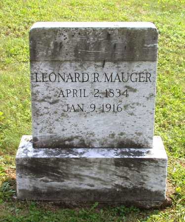 MAUGER, LEONARD R. - Juniata County, Pennsylvania | LEONARD R. MAUGER - Pennsylvania Gravestone Photos