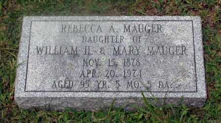 MAUGER, REBECCA ALLEN - Juniata County, Pennsylvania | REBECCA ALLEN MAUGER - Pennsylvania Gravestone Photos