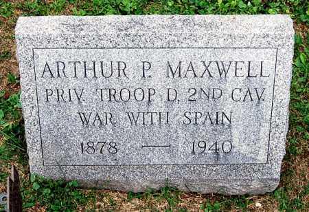 MAXWELL, ARTHUR P. - Juniata County, Pennsylvania | ARTHUR P. MAXWELL - Pennsylvania Gravestone Photos