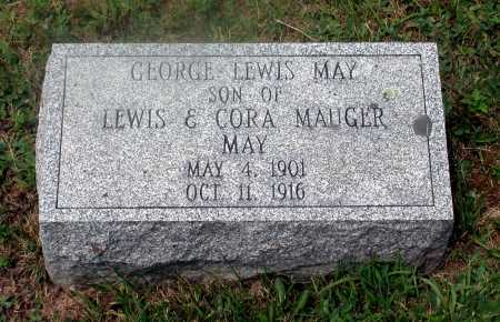 MAY, GEORGE LEWIS - Juniata County, Pennsylvania | GEORGE LEWIS MAY - Pennsylvania Gravestone Photos