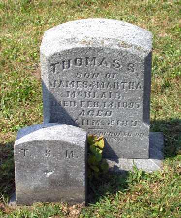 MCBLAIR, THOMAS S. - Juniata County, Pennsylvania | THOMAS S. MCBLAIR - Pennsylvania Gravestone Photos