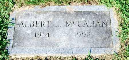 MCCAHAN, ALBERT L. - Juniata County, Pennsylvania   ALBERT L. MCCAHAN - Pennsylvania Gravestone Photos