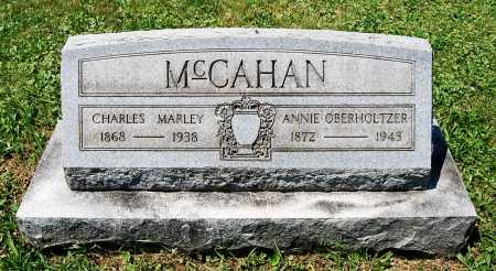 MCCAHAN, ANNIE - Juniata County, Pennsylvania | ANNIE MCCAHAN - Pennsylvania Gravestone Photos