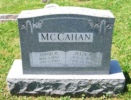 MCCAHAN, DAVID HOMER - Juniata County, Pennsylvania   DAVID HOMER MCCAHAN - Pennsylvania Gravestone Photos
