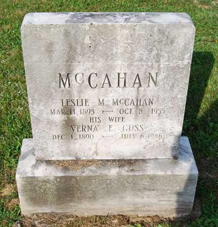 GUSS MCCAHAN, VERNA R. - Juniata County, Pennsylvania | VERNA R. GUSS MCCAHAN - Pennsylvania Gravestone Photos