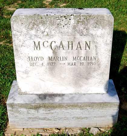 MCCAHAN, LLOYD MARLIN - Juniata County, Pennsylvania   LLOYD MARLIN MCCAHAN - Pennsylvania Gravestone Photos