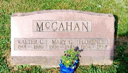 MCCAHAN, FLORENCE I. - Juniata County, Pennsylvania | FLORENCE I. MCCAHAN - Pennsylvania Gravestone Photos