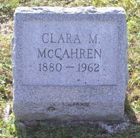 MCCAHREN, CLARA MYRTLE - Juniata County, Pennsylvania | CLARA MYRTLE MCCAHREN - Pennsylvania Gravestone Photos