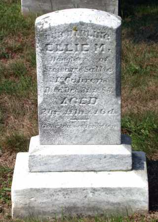 MCCAHREN, ELLIE M. - Juniata County, Pennsylvania | ELLIE M. MCCAHREN - Pennsylvania Gravestone Photos