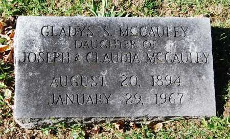 MCCAULEY, GLADYS S. - Juniata County, Pennsylvania | GLADYS S. MCCAULEY - Pennsylvania Gravestone Photos
