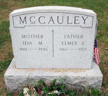 MCCAULEY, ELMER E. - Juniata County, Pennsylvania | ELMER E. MCCAULEY - Pennsylvania Gravestone Photos
