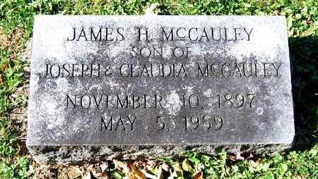 MCCAULEY, JAMES H. - Juniata County, Pennsylvania | JAMES H. MCCAULEY - Pennsylvania Gravestone Photos