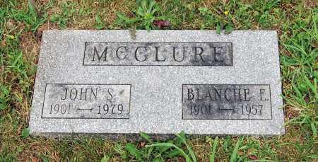 MCCLURE, BLANCHE E. - Juniata County, Pennsylvania   BLANCHE E. MCCLURE - Pennsylvania Gravestone Photos