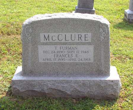 MCCLURE, FRANCES E. - Juniata County, Pennsylvania | FRANCES E. MCCLURE - Pennsylvania Gravestone Photos