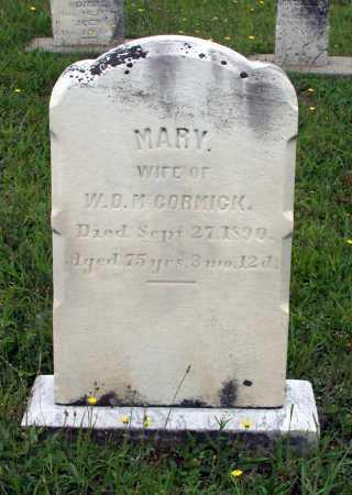 MCCORMICK, MARY - Juniata County, Pennsylvania | MARY MCCORMICK - Pennsylvania Gravestone Photos