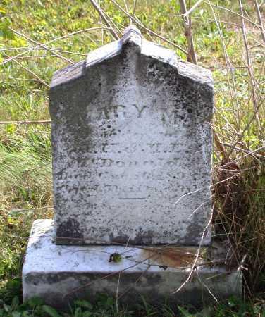 MCDONALD, MARY M. - Juniata County, Pennsylvania | MARY M. MCDONALD - Pennsylvania Gravestone Photos