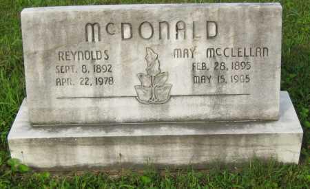 MCDONALD, MAY SVENSON - Juniata County, Pennsylvania | MAY SVENSON MCDONALD - Pennsylvania Gravestone Photos