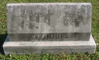 MCGINNIS, JOHN A. - Juniata County, Pennsylvania | JOHN A. MCGINNIS - Pennsylvania Gravestone Photos