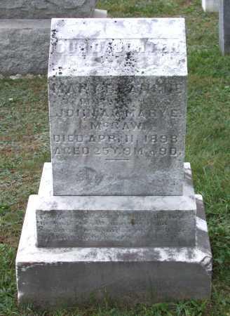 MCGAW, MARY BLANCHE - Juniata County, Pennsylvania | MARY BLANCHE MCGAW - Pennsylvania Gravestone Photos
