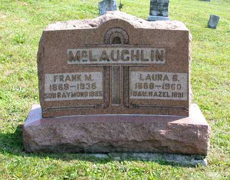 WEIMER MCLAUGHLIN, LAURA BELLE - Juniata County, Pennsylvania | LAURA BELLE WEIMER MCLAUGHLIN - Pennsylvania Gravestone Photos