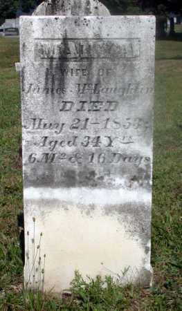 WHARTON MCLAUGHLIN, MARY A. - Juniata County, Pennsylvania | MARY A. WHARTON MCLAUGHLIN - Pennsylvania Gravestone Photos