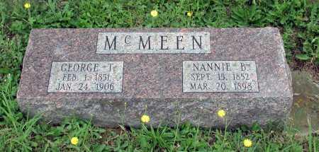 WAGNER MCMEEN, NANNIE BLANCH - Juniata County, Pennsylvania | NANNIE BLANCH WAGNER MCMEEN - Pennsylvania Gravestone Photos
