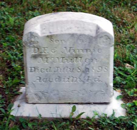 MCMULLEN, CHESTER - Juniata County, Pennsylvania | CHESTER MCMULLEN - Pennsylvania Gravestone Photos