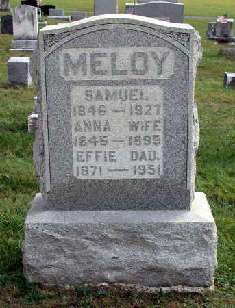 MELOY, EFFIE - Juniata County, Pennsylvania | EFFIE MELOY - Pennsylvania Gravestone Photos