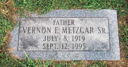 METZGAR, VERNON E. - Juniata County, Pennsylvania | VERNON E. METZGAR - Pennsylvania Gravestone Photos