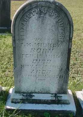 """MICKEY, ELIZABETH """"ELIZA"""" J. - Juniata County, Pennsylvania   ELIZABETH """"ELIZA"""" J. MICKEY - Pennsylvania Gravestone Photos"""