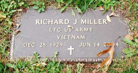 MILLER, RICHARD J. - Juniata County, Pennsylvania | RICHARD J. MILLER - Pennsylvania Gravestone Photos