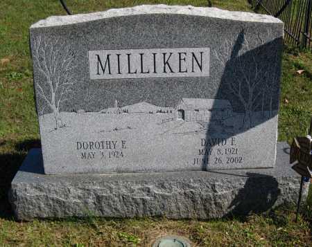 "BRYNER MILLIKEN, DOROTHY E. ""DOT"" - Juniata County, Pennsylvania   DOROTHY E. ""DOT"" BRYNER MILLIKEN - Pennsylvania Gravestone Photos"