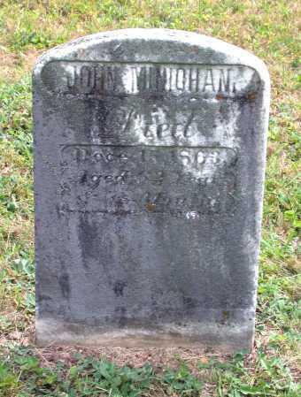 MINICHAM, JOHN - Juniata County, Pennsylvania | JOHN MINICHAM - Pennsylvania Gravestone Photos