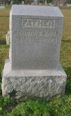 MOIST, REUBEN S. - Juniata County, Pennsylvania | REUBEN S. MOIST - Pennsylvania Gravestone Photos