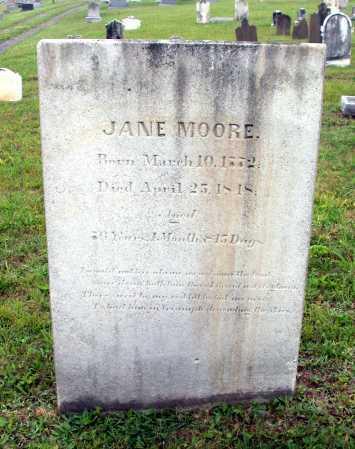 MOORE, JANE - Juniata County, Pennsylvania | JANE MOORE - Pennsylvania Gravestone Photos