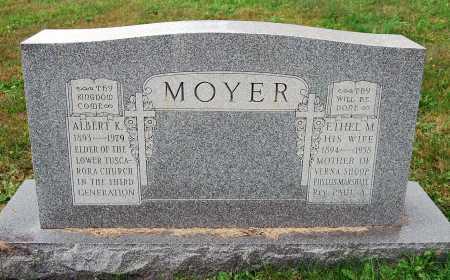 MOYER, ALBERT K. - Juniata County, Pennsylvania   ALBERT K. MOYER - Pennsylvania Gravestone Photos