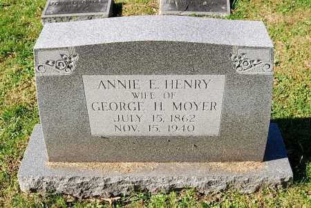 MOYER, ANNIE E. - Juniata County, Pennsylvania | ANNIE E. MOYER - Pennsylvania Gravestone Photos