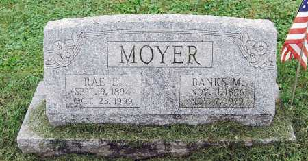 MOYER, BANKS MCDERMOTT - Juniata County, Pennsylvania | BANKS MCDERMOTT MOYER - Pennsylvania Gravestone Photos