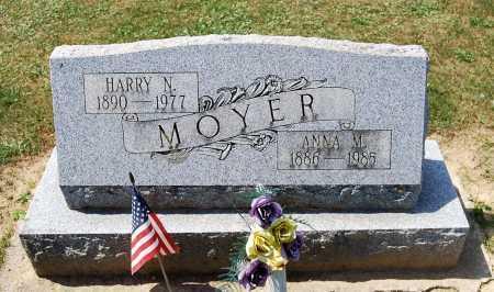 MOYER, HARRY N. - Juniata County, Pennsylvania   HARRY N. MOYER - Pennsylvania Gravestone Photos
