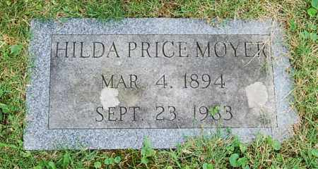 MOYER, HULDA - Juniata County, Pennsylvania | HULDA MOYER - Pennsylvania Gravestone Photos