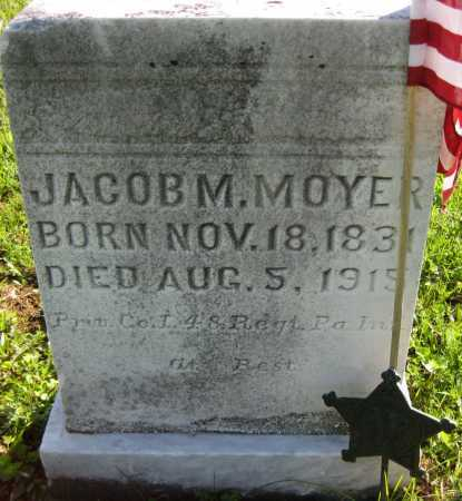 MOYER, JACOB M. - Juniata County, Pennsylvania | JACOB M. MOYER - Pennsylvania Gravestone Photos