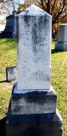 MOYER, JENNIE S. - Juniata County, Pennsylvania | JENNIE S. MOYER - Pennsylvania Gravestone Photos