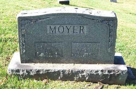 MOYER, MINNIE M. - Juniata County, Pennsylvania | MINNIE M. MOYER - Pennsylvania Gravestone Photos