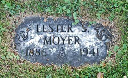 MOYER, LESTER SANDERS - Juniata County, Pennsylvania | LESTER SANDERS MOYER - Pennsylvania Gravestone Photos